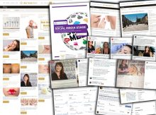Digital and social media thought leadership by Jackie Partridge of Dermal Clinic
