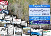 Scottish PR company ensures bumper month of coverage for Bell Ingram