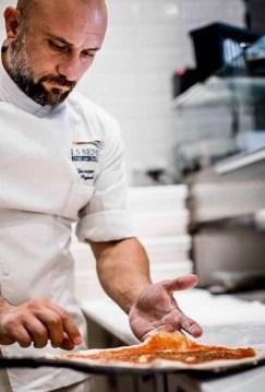 Food and Drink PR photograph of Michelin-star chef Giuseppe Pignalosa