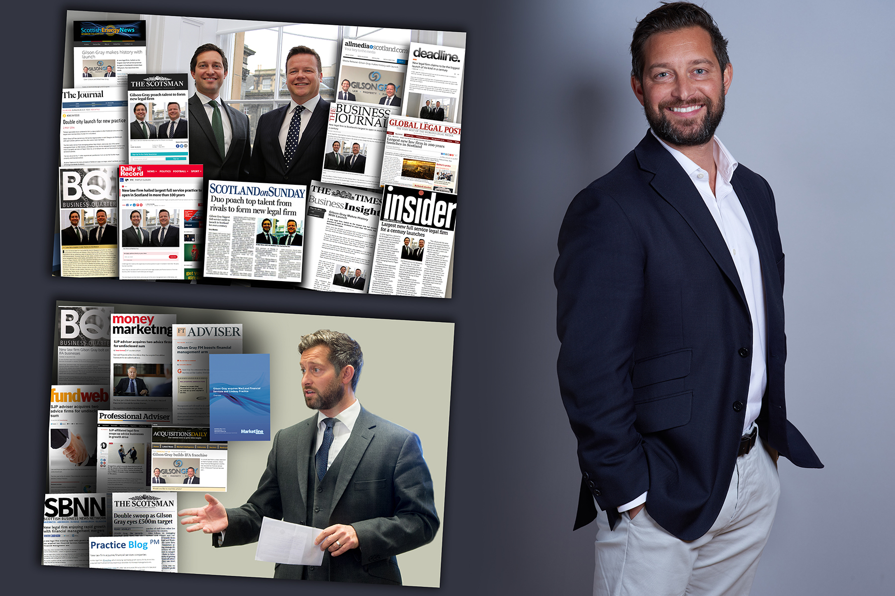 Glen Gilson is an established thought leader thanks to successful legal PR