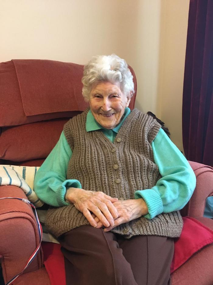 Thanks to Charity PR, Bield shares the news of Mary Norris turning 100