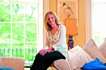 Hair & Beauty PR photograph of Sue Hitchen for the launch of health and beauty section in Foodies Magazine