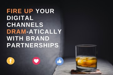 Blog post image of a dram of whisky for The Walled Gardens' digital pr partnership with Kingsbarns Distillery & Visitor Centre