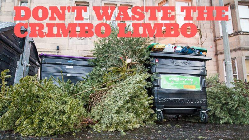 27 DEC DON'T WASTE THE CHRIMBO LIMBO Scottish PR agency