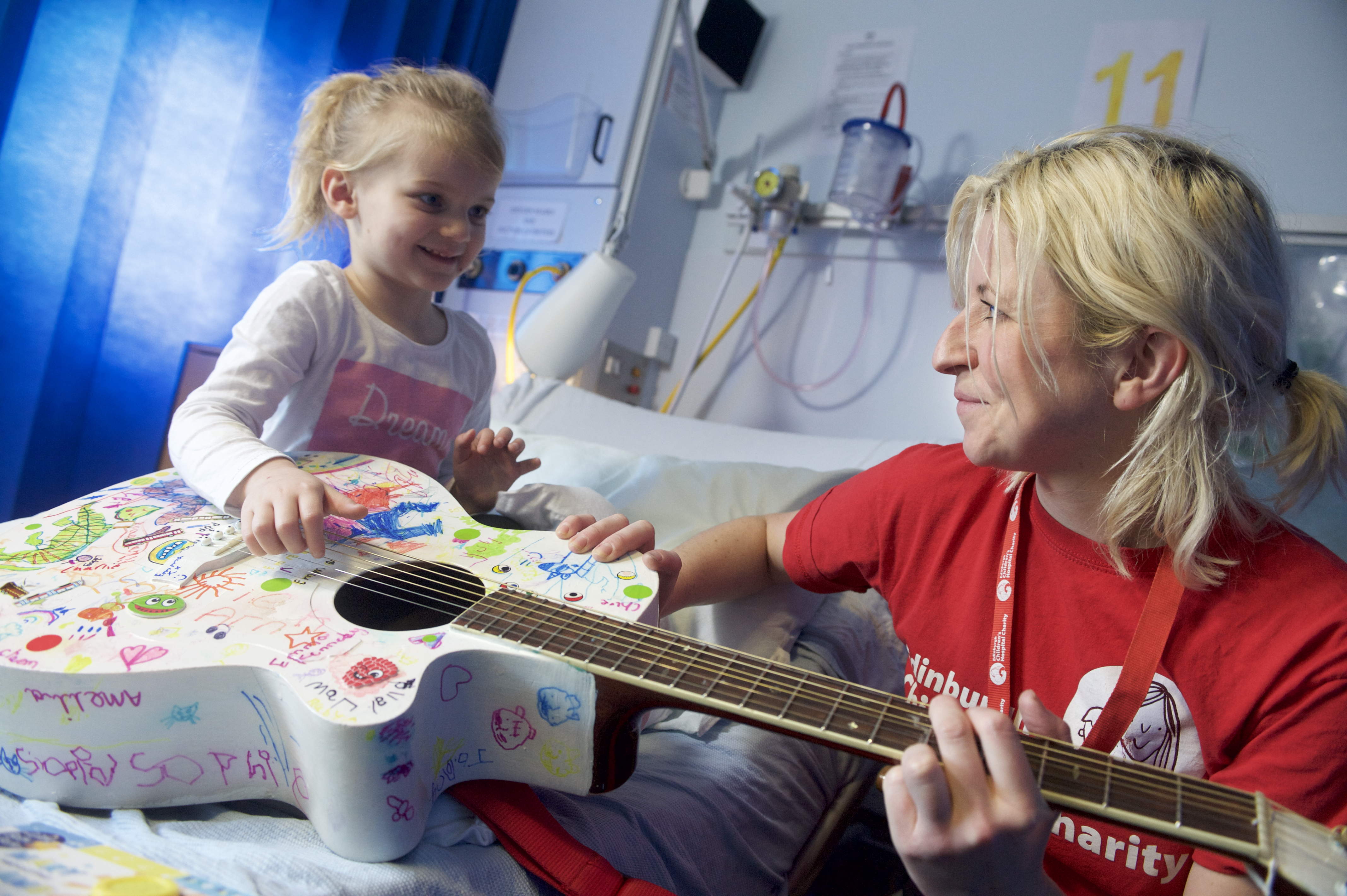 Child with ECHC Play Specialist | Charity PR