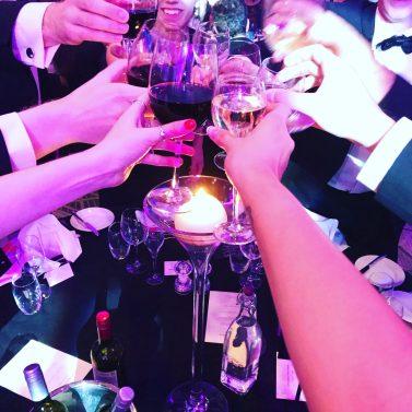 Award winning PR agency team celebrate at PR awards