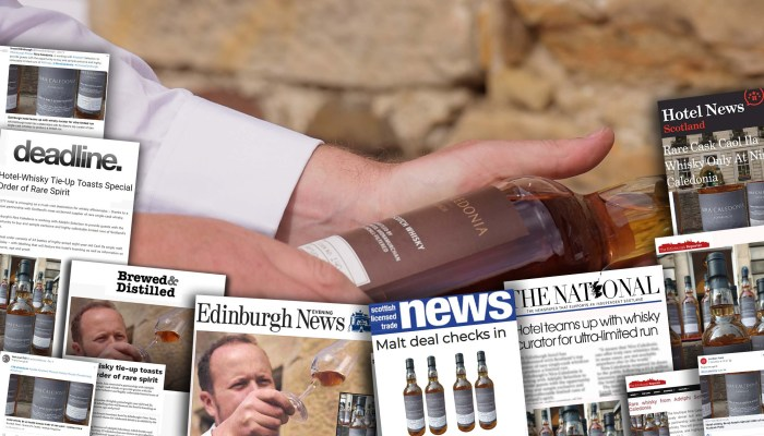 Traditional and social media success for Nira Caledonia's unique whisky partnership: Food and Drink PR