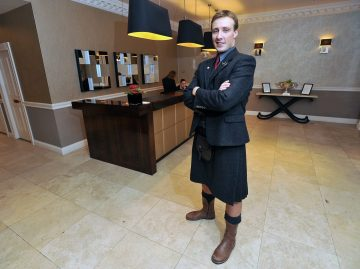 Multi lingual concierge Rudy Crane earned valuable hotel PR for Fraser Suites