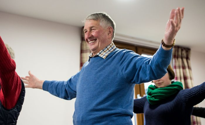 Paths for All care home Strength and balance exercises | Charity PR
