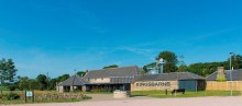 Image of Kingsbarns Distillery & Visitor Centre as part of a digital PR campaign with The Walled Gardens in St Andrews