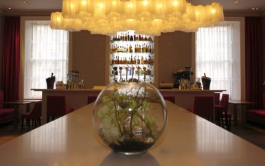 The Georgian Bar in Tigerlily captured in bar and restaurant PR photography ahead of the venue's high profile PR launch in 2006