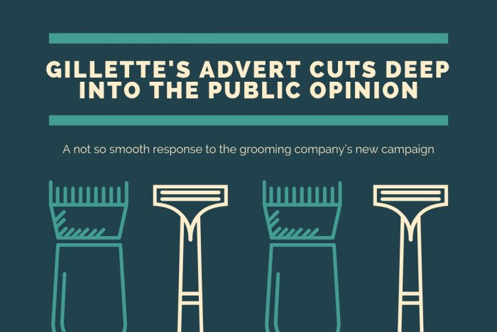 "Consumer PR blog image for a post on Gillette's ""The Best Men Can Be"" campaign"