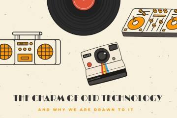 PR video expert comments on the nostalgia effect of old technology