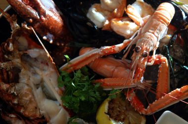 Food and drink PR for Tigerlily - seafood sharing platter