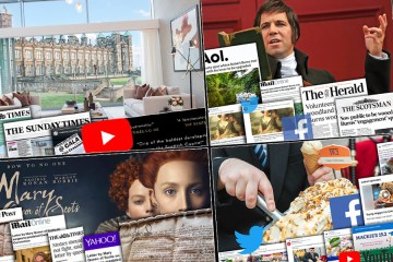 Scottish PR agency Holyrood PR celebrates record month of coverage with a montage of top performing stories