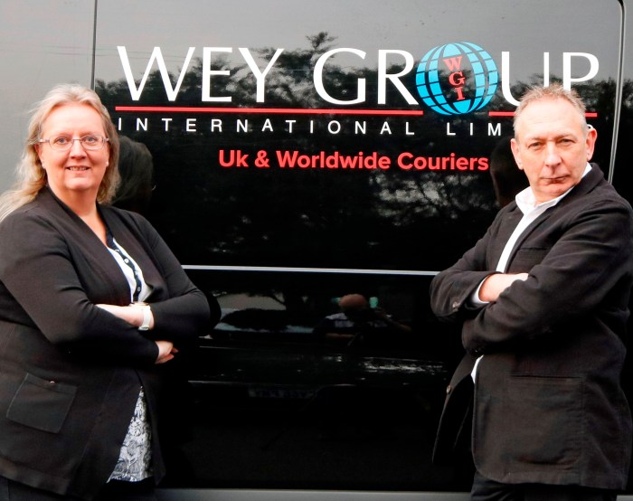 Eagle Couriers' acquisition of Wey Group International   Scottish PR