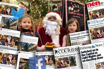 Charity PR agency Holyrood PR spread news of ECHC's Jenners light switch on across the media