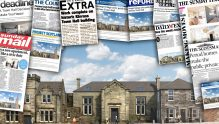 A montage of property PR and online media success for a luxury property development