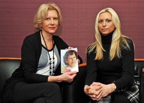 Marilyn Baldwin, founder of the Think Jessica campaign and her daughter Natalie Baldwin, captured in PR photography