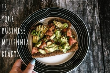 Blog post image of avocado toast to go with feature - as our Scottish PR agency asks: Is your business millennial ready
