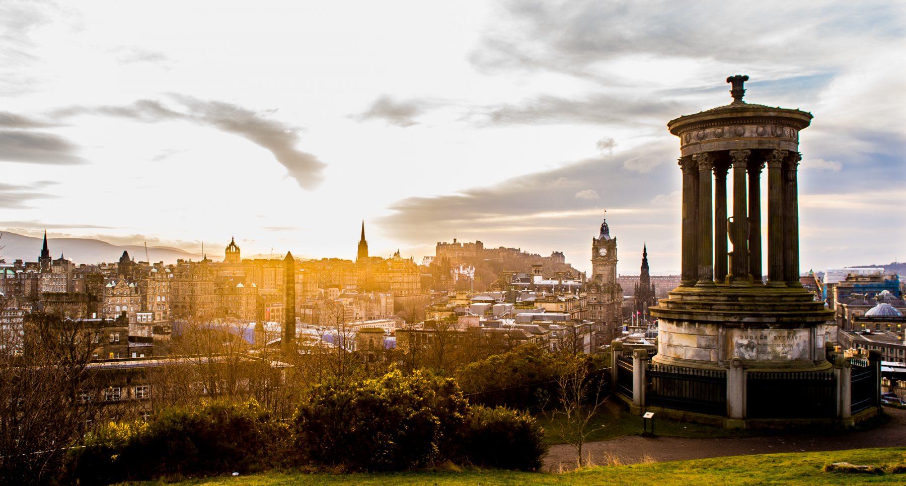 Edinburgh skyline Property PR