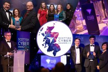 Tech PR montage to show the success of the Scottish Cyber Awards