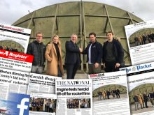 Tech PR agency celebrates coverage secured for Scottish space firm SKyrora as they prepare for engine testing at a new Cornwall site