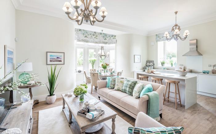 Henderson House, Marine Rise, Gullane. CALA Homes East. Property PR Edinburgh