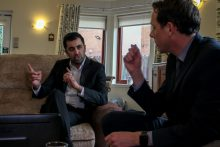 Care PR photography of Glasgow MSP Humza Yousaf