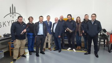 Colin Beattie, MSP for Midlothian North and Musselburgh, has visited Skyrora's cutting-edge production facility in Loanhead, commending the rocket firm for their role in boosting Scotland's space sector. Tech PR