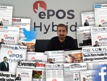 Tech PR experts deliver bumper month of coverage for ePOS Hybrid