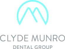 The logo of Clyde Munro dental group for Scottish PR campaigns