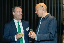 Philip Hogg, Sales and Marketing Director for CALA Homes (East) and James Mason, Director at Richard Murphy Architects