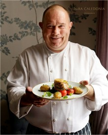 Food and Drink PR photography shows William Poncelet, Head Chef at Blackwood's Bar and Grill