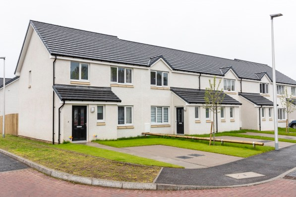Cairn Housing Association, in partnership with Angus Housing Association is officially opening its new development of 71 much needed affordable homes.The development is officially opened by Graeme Dey MSP.(Photo by Ross Johnston/Newsline Media)