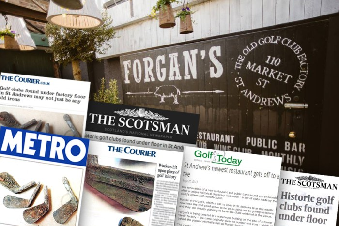 Forgan's bag a hole in one of media success | Consumer PR