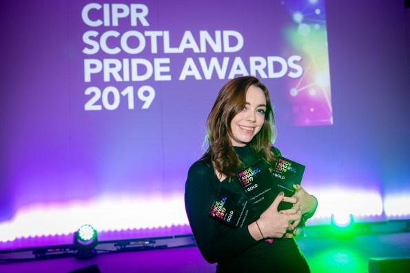 Videographer Elisabeth Richardson from the award winning Holyrood PR agency