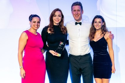Edinburgh PR agency Holyrood PR collects an award