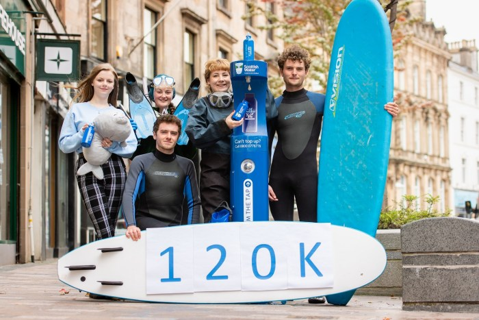 Scotland Taps Into Water On-The-Go | Scottish PR.