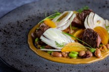 Food and drink PR photography for New Chapter restaurant in Edinburgh