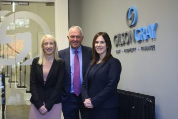 Legal PR image shows surprise appointment of Alasdair Loudon, formerly of Turcan Connell, to Gilson Gray's family law team