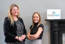 Gilson Gray has underlined its commitment to strategic business growth by acquiring a Glasgow- based specialist licensing firm. The team from Millar Campbell solicitors will be joining Gilson Gray's Glasgow operation, sitting within real estate. Legal PR image of Joanna Millar and Laura Campbell of Millar Campbell Solicitors