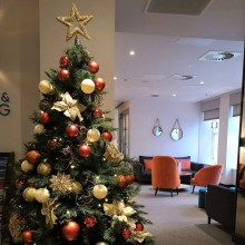 Ten Hill Place is throwing a festive party for all staff | Edinburgh PR