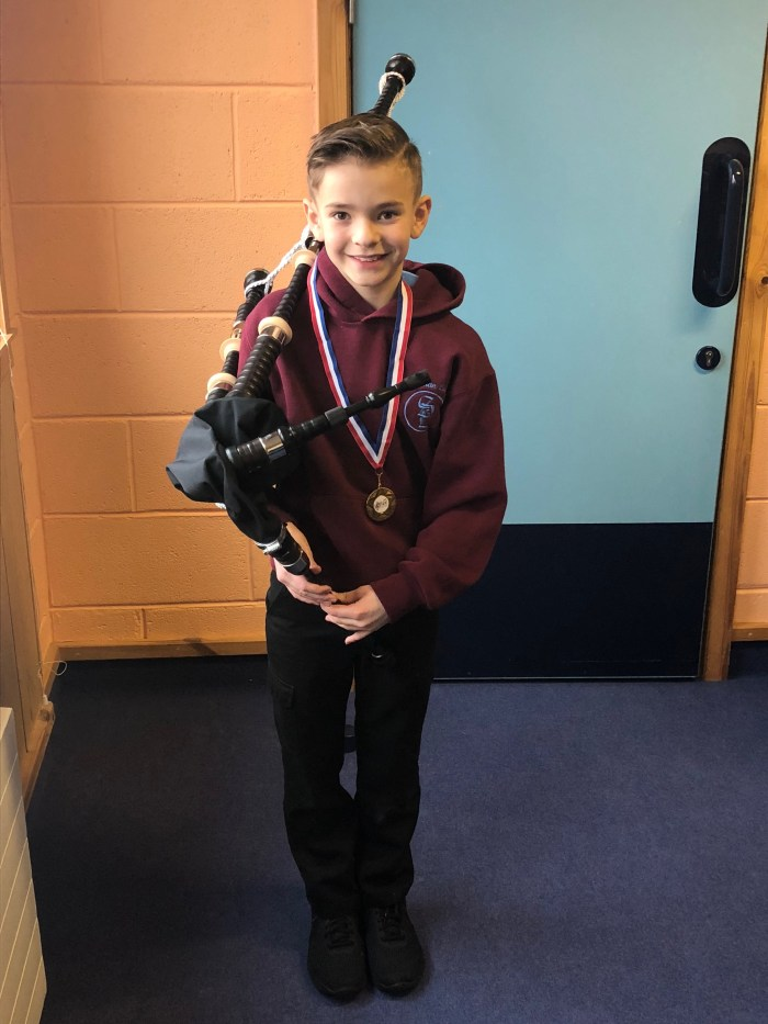 Scottish PR - Scottish Schools Pipes and Drums Trust Bagpipe Lending Service