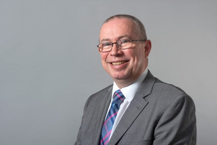 Headshot image of Scott Mitchell, Managing Director of Surgeons Quarter