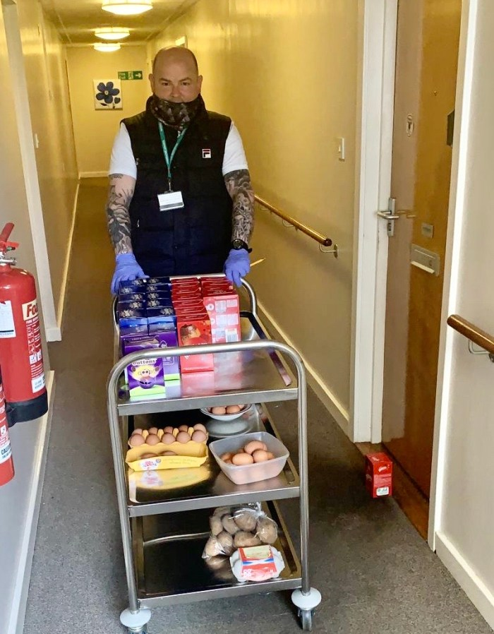 Easter cheer in housing developments across the central belt | Charity PR