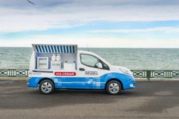 Mackie's of Scotland and Nissan create zero-emission ice cream van in Food and Drink PR revelation