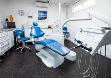 Art of Dentistry waiting room - dental PR photography
