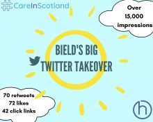 Bield's Twitter Takeover turned out as Social Media and Digital PR victory