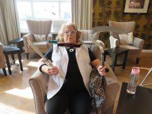 Social care PR photography Cramond Residence Fringe Dorothy by Holyrood PR Edinburgh
